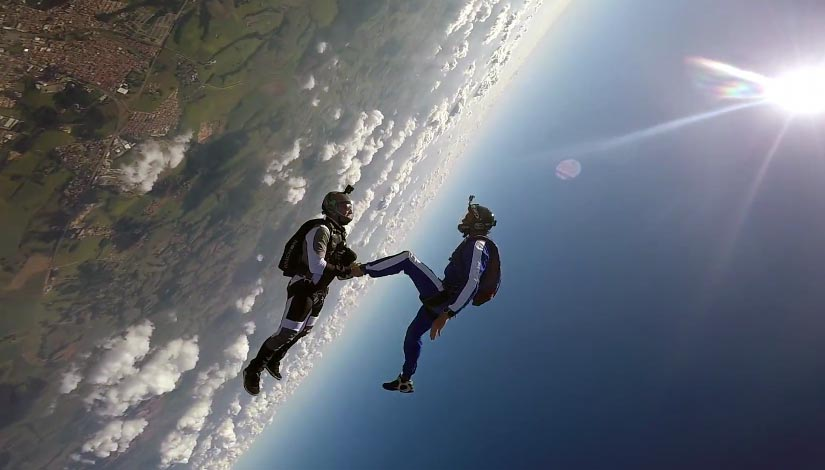 Teem: The New Face of Skydiving & BASE