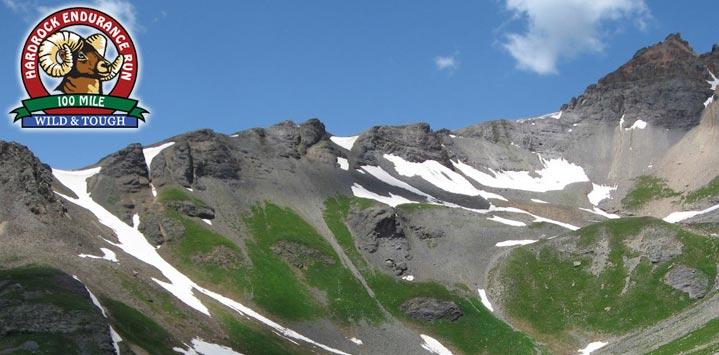 course trail montagne Hardrock 100