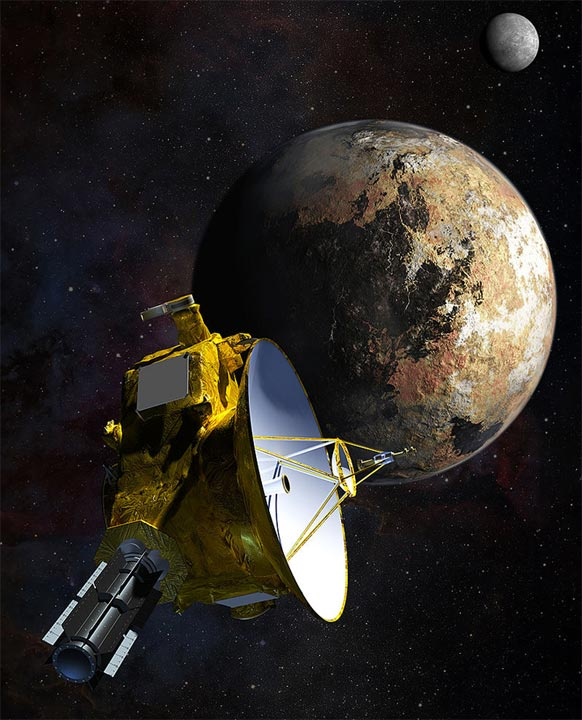 photo planete pluton new horizons NASA