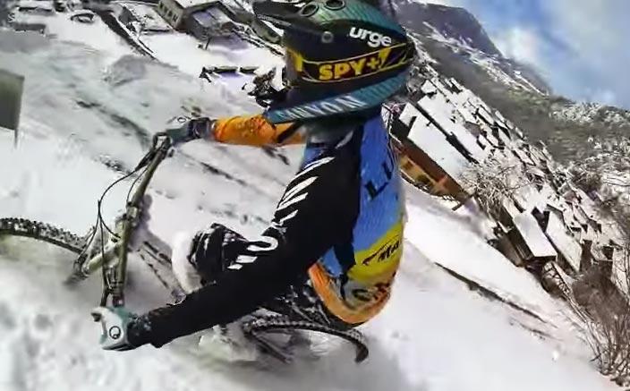 photo VTT neige