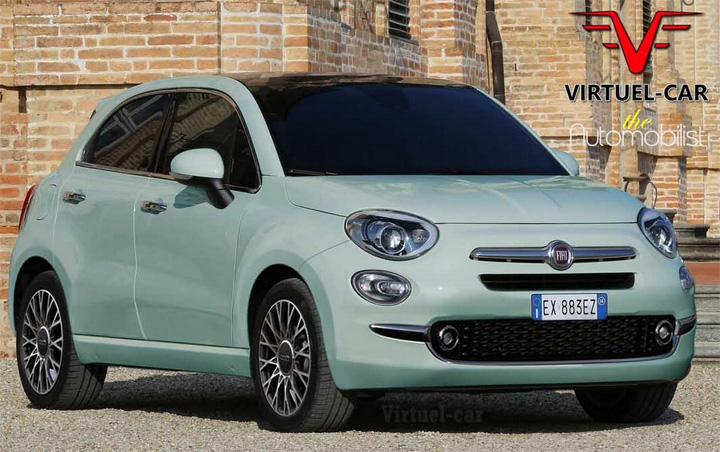 photo Fiat 500 Cinqueporte Punto 5 portes