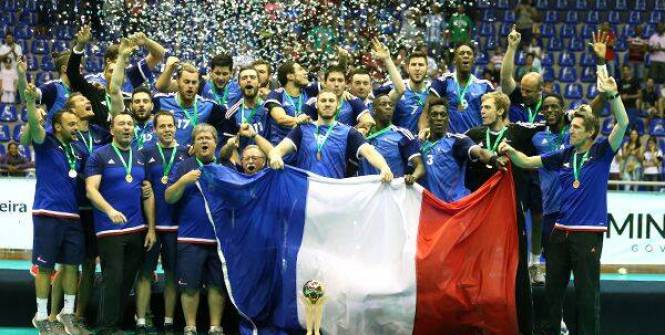 photo Handball Equipe de France Junior championne du monde