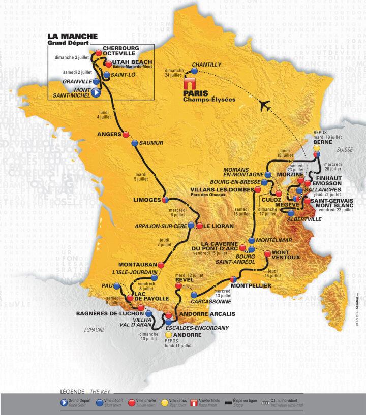 Tour de France 2016 velo