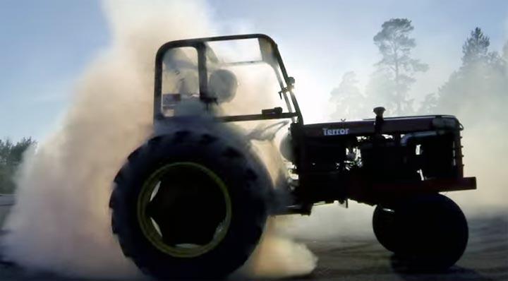 tracteur drift