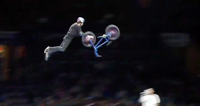 BMX Nothing Front Bike Flip
