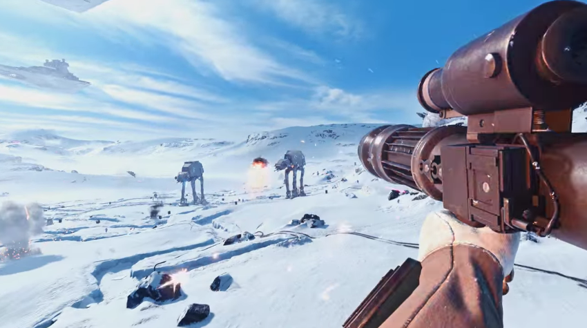 Star Wars Battlefront Real Life Mod 4K 60FPS