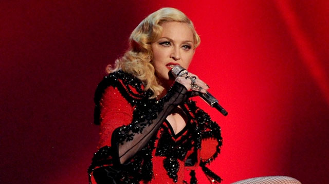 photo video concert Madonna Paris Bercy 2015