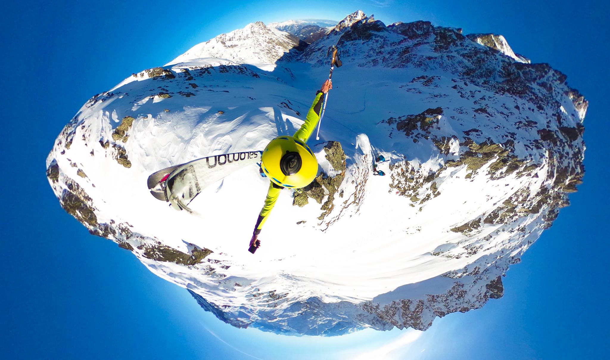 photo video mont blanc 360 degres