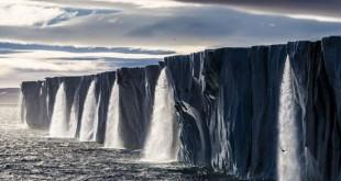 photo falaise ile Svalbard Norvege