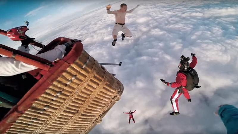 sauter sans parachute