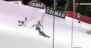 chute drone course ski