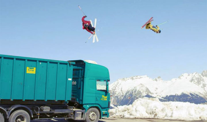 video ski freestyle Fast Forward Kevin Rolland Julien Regnier