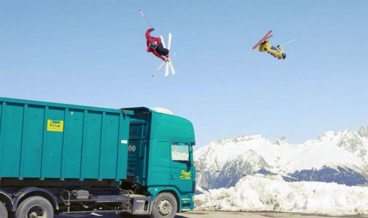 video ski freestyle Fast Forward Kevin Rolland Julien Regnier