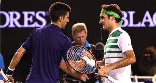 photo Novak Djokovic Roger Federer Open Australie tennis