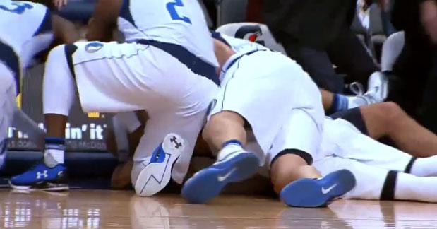 buzzer beater mavericks NBA basket