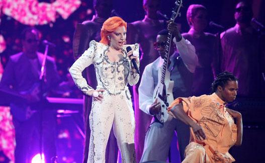 hommage de Lady Gaga à David Bowie