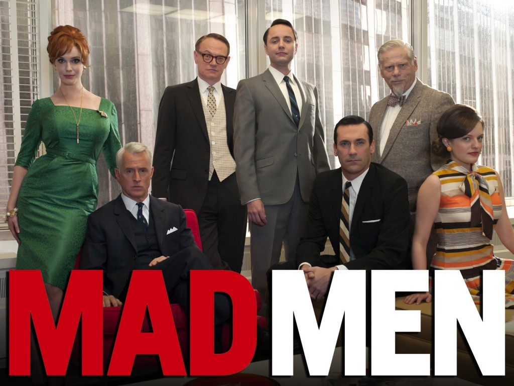 video serie TV Mad Men photo famille