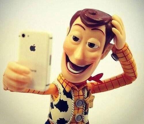 selfie toy story