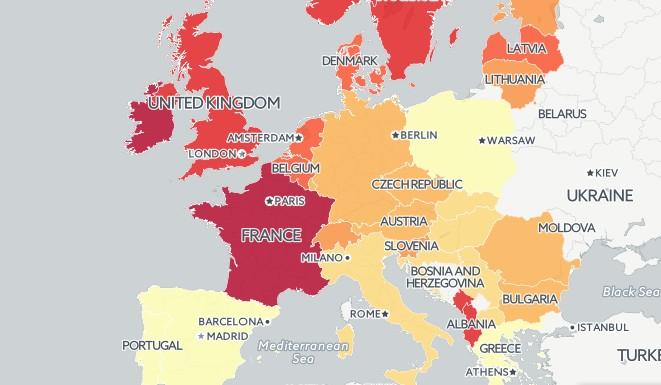 fecondite europe