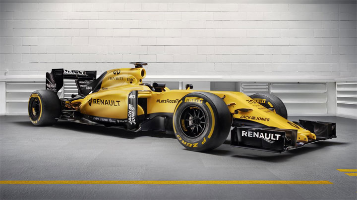 photo Renault Sport F1 2016 Formule 1 GP