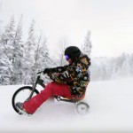 velo tricycle neige drift