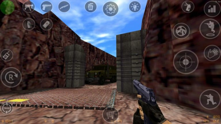 Counter Strike 1.6 sur smartphone Android