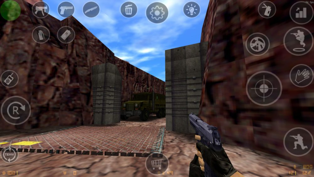 tutoriel installer Counter Strike Android jeu CS 1.6