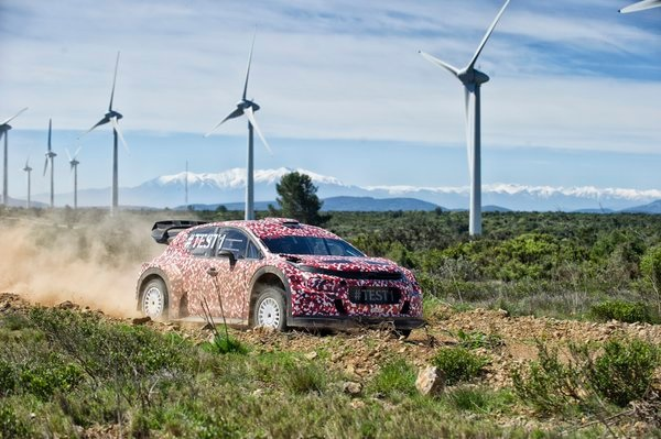 photo Citroen C3 WRC 2017