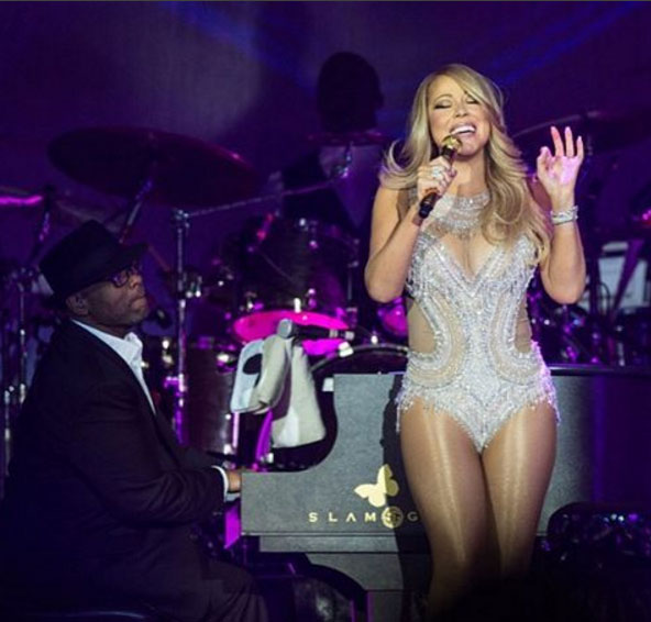 photo Mariah Carey 2016 tournée concerts Europe