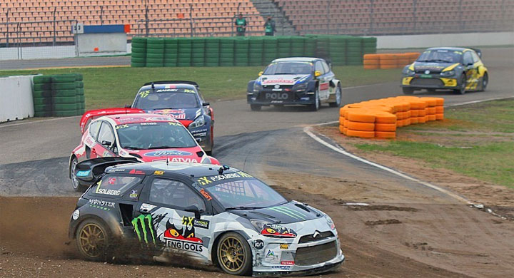 photo video Rallycross RX Hockenheim