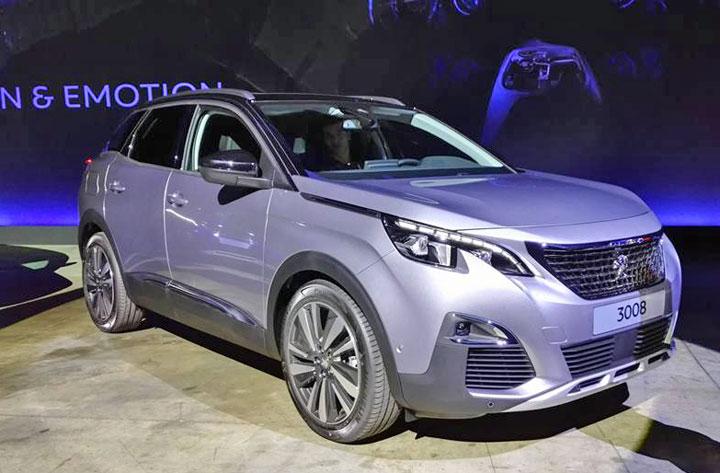 Peugeot 3008 II modele 2016 2017