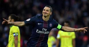 Zlatan Ibrahimovic PSG but