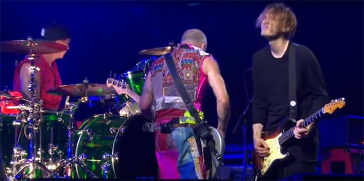 photo vidéo Red Hot Chili Peppers - Dark Necessities live at Rock am Ring 2016