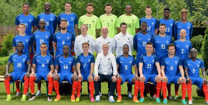 photo equipe france football 2016