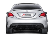 photo video echappement Akrapovic Mercedes C63 AMG 2016 2017