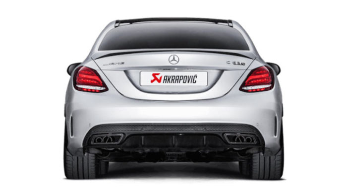 akrapovic s 39 occupe de la derni re mercedes c63 amg blog note. Black Bedroom Furniture Sets. Home Design Ideas