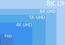 FullHD 4K 5K 6K 8K resolution ecran