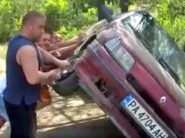 cric voiture russie