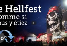 Festival Hellfest video VR 360 degrés
