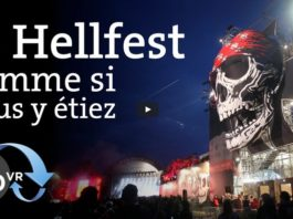 Festival Hellfest video VR 360 degrés