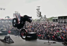 video demo moto motocross Julien Dupont Ride the world festival Hellfest 2016