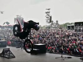 video demo moto motocross Julien Dupont Ride the world festival Hellfest 2016