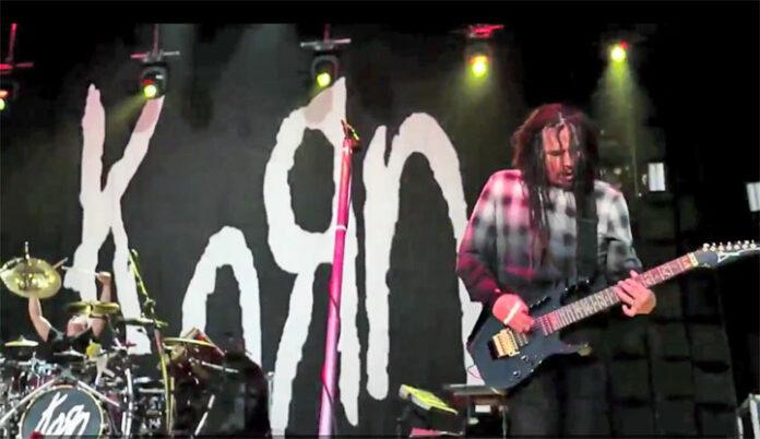 photo video concert Korn Europe 2016