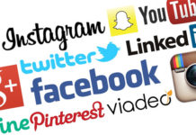 logo Facebook, Twitter, Google Plus, Instagram, YouTube, Linkedin, Tumblr, Pinterest