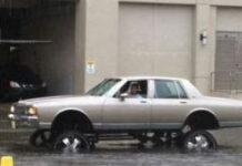 photo lowrider inondation