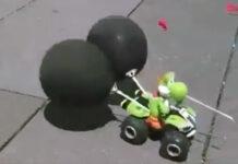 Mario Kart en réel vrai
