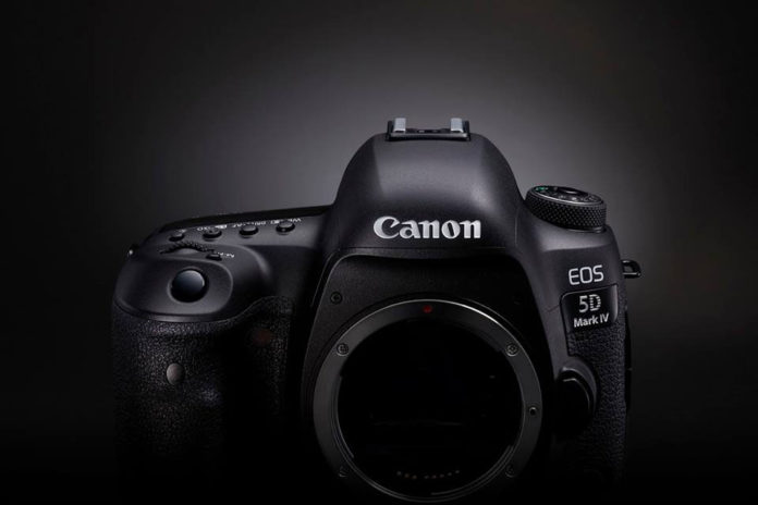 photo boitier nu Canon EOS 5D Mark IV