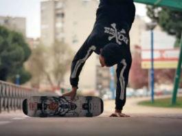 video kilian martin freestyle skateboard awesome