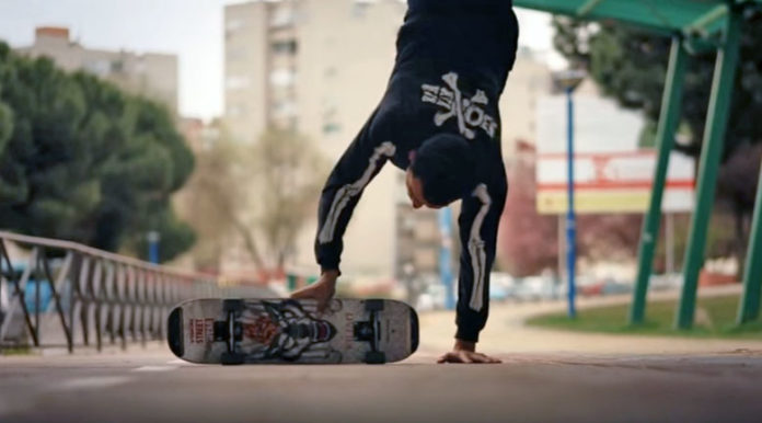 video kilian martin freestyle skateboard awesome