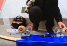skateboard guitare electrique